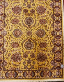 Иранский ковер Marshad Carpet 3043 Yellow - высокое качество по лучшей цене в Украине.