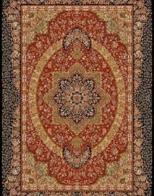Иранский ковер Marshad Carpet 3053 Dark Red Black - высокое качество по лучшей цене в Украине.