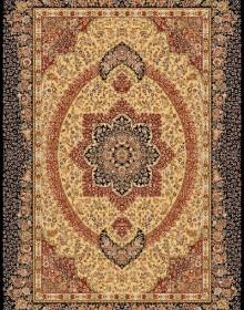 Иранский ковер Marshad Carpet 3053 Dark Yellow Black - высокое качество по лучшей цене в Украине.