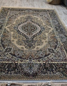 Иранский ковер Marshad Carpet 3054 Beige Blue - высокое качество по лучшей цене в Украине.