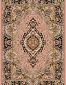 Иранский ковер Marshad Carpet 3054 Pink Black - высокое качество по лучшей цене в Украине.