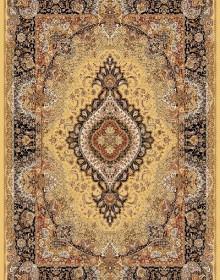 Иранский ковер Marshad Carpet 3054 Yellow Black - высокое качество по лучшей цене в Украине.