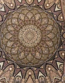 Иранский ковер Marshad Carpet 3055 Black - высокое качество по лучшей цене в Украине.