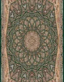 Иранский ковер Marshad Carpet 3055 Dark Green - высокое качество по лучшей цене в Украине.
