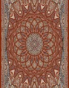 Иранский ковер Marshad Carpet 3055 Dark Red - высокое качество по лучшей цене в Украине.