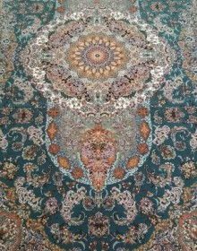 Иранский ковер FIROOZEH BLUE - высокое качество по лучшей цене в Украине.