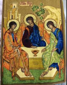Ковер Икона 2016 Святая Троица - высокое качество по лучшей цене в Украине.