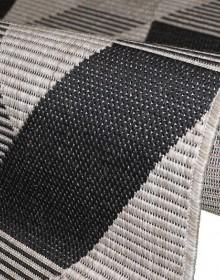 Безворсовый ковер Natura 20561 Silver-Black - высокое качество по лучшей цене в Украине.