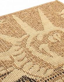 Безворсовый ковер Sisal 2390 , BROWN - высокое качество по лучшей цене в Украине.