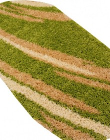 Высоковорсная ковровая дорожка First Shaggy 1198 , GREEN - высокое качество по лучшей цене в Украине.