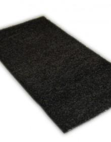 Высоковорсный ковер Shaggy Delux 8000-80 black - высокое качество по лучшей цене в Украине.