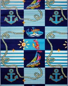 Детская ковровая дорожка Baby 6041 LACIVERT-MAVI - высокое качество по лучшей цене в Украине.