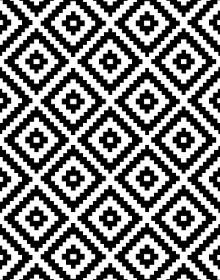 Иранский ковер Black&White 1738 - высокое качество по лучшей цене в Украине.