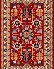 Иранский ковер Pazirik Mehraban D.Red - высокое качество по лучшей цене в Украине.