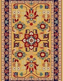 Иранский  ковер Pazirik Mehraban Gold - высокое качество по лучшей цене в Украине.