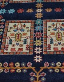Иранский ковер Pazirik Qashqai D.Blue - высокое качество по лучшей цене в Украине.