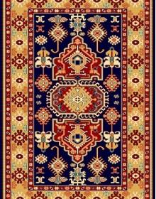Иранский  ковер Pazirik Touba D.Blue - высокое качество по лучшей цене в Украине.