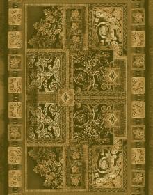 Шерстяной ковер Floare-Carpet Edera 336-1659 - высокое качество по лучшей цене в Украине.