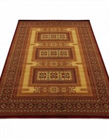 Шерстяной ковер Kirman 0320 camel red - высокое качество по лучшей цене в Украине.