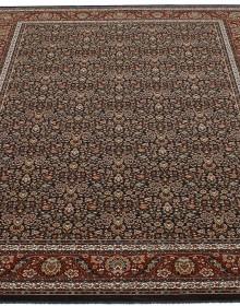 Шерстяной ковер Nain 1286-705 brown-rost - высокое качество по лучшей цене в Украине.