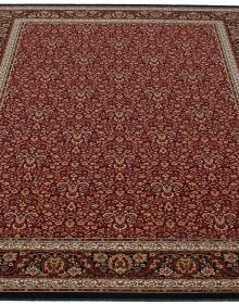 Шерстяной ковер Nain 1286-710 red-ebony - высокое качество по лучшей цене в Украине.