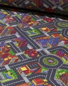 Детский ковролин Big City 97 АКЦИЯ - высокое качество по лучшей цене в Украине.