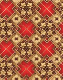 Ковролин с рисунком Parket red 315 - высокое качество по лучшей цене в Украине.
