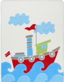 Синтетический ковер Baby Ship Blue - высокое качество по лучшей цене в Украине.