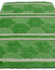 Коврик для ванной Mega MIDYE 1PC Leyla Green-Cream - высокое качество по лучшей цене в Украине.