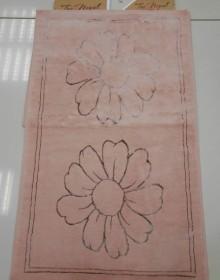Коврик для ванной TacNepal 106 dark pink - высокое качество по лучшей цене в Украине.