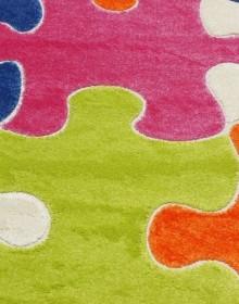Синтетическая ковровая дорожка Fulya 8C10A green - высокое качество по лучшей цене в Украине.