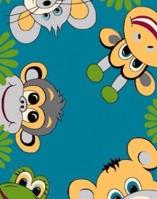 Детский ковер Funky Top Tig Szmaragd - высокое качество по лучшей цене в Украине.