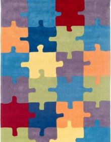 Детский ковер Kids 18 Color Puzzle - высокое качество по лучшей цене в Украине.