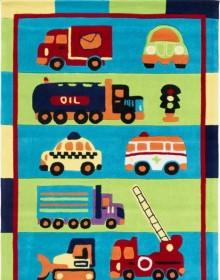 Детский ковер Kids 18 Stripe Trucks - высокое качество по лучшей цене в Украине.