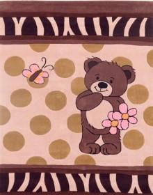 Детский ковер Kids 20 Butterfly Teddy Bear - высокое качество по лучшей цене в Украине.