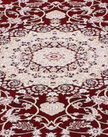 Высокоплотная ковровая дорожка Esfahan 4878A d.red-ivory - высокое качество по лучшей цене в Украине.