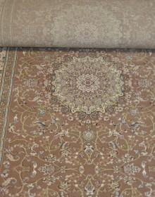 Высокоплотная ковровая дорожка Esfahan 4878A brown-ivory - высокое качество по лучшей цене в Украине.