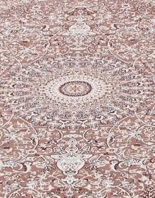 Высокоплотная ковровая дорожка Esfahan 4996A brown-ivory - высокое качество по лучшей цене в Украине.