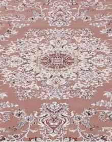 Высокоплотная ковровая дорожка Esfahan 5978A brown-ivory - высокое качество по лучшей цене в Украине.