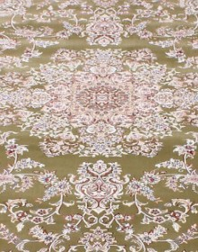 Высокоплотная ковровая дорожка Esfahan 5978A green-ivory - высокое качество по лучшей цене в Украине.