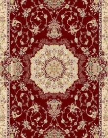 Высокоплотная ковровая дорожка Karat 3108 red-red - высокое качество по лучшей цене в Украине.