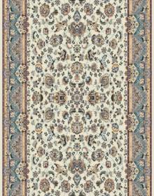 Высокоплотная ковровая дорожка Karol 7957 cream-blue - высокое качество по лучшей цене в Украине.