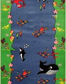 Детская ковровая дорожка Rainbow 03256 blue - высокое качество по лучшей цене в Украине.