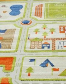 Детская ковровая дорожка Daisy Fulya 8c44b orange - высокое качество по лучшей цене в Украине.