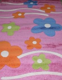 Детская ковровая дорожка Daisy Fulya 8947a pink - высокое качество по лучшей цене в Украине.