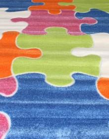 Детская ковровая дорожка Daisy Fulya 8C10A blue - высокое качество по лучшей цене в Украине.