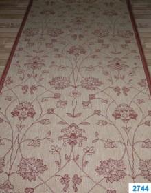 Безворсовая ковровая дорожка Cottage 2744 natural-red - высокое качество по лучшей цене в Украине.