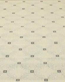 Безворсовая ковровая дорожка Lodge 1502 natural - black - высокое качество по лучшей цене в Украине.