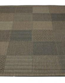 Безворсовая ковровая дорожка Lodge 1609 brown-black - высокое качество по лучшей цене в Украине.