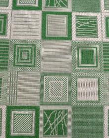 Безворсовая ковровая дорожка Natura Kubik green Рулон - высокое качество по лучшей цене в Украине.